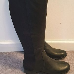 Liz Claiborne over the knee boots- new w/o box